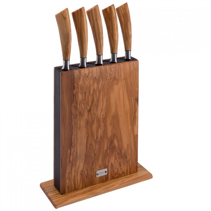 Saladini-knivblok-vertikal-8200-oliven-m.-kniv