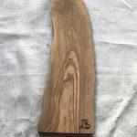 Ubehandlet skærebræt fra Andrea Brugi 45 x 26 cm