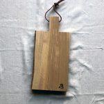 Ubehandlet skærebræt fra Andrea Brugi 44 x 22 cm