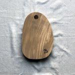 Ubehandlet skærebræt fra Andrea Brugi 33 x 22 cm