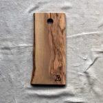Ubehandlet skærebræt fra Andrea Brugi 33 x 16 cm