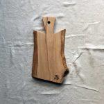 Ubehandlet skærebræt fra Andrea Brugi 43 x 25 cm