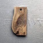 Ubehandlet skærebræt fra Andrea Brugi 40 x 21 cm