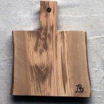 Ubehandlet skærebræt fra Andrea Brugi 34 x 29 cm