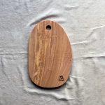 Ubehandlet skærebræt fra Andrea Brugi 39 x 25 cm